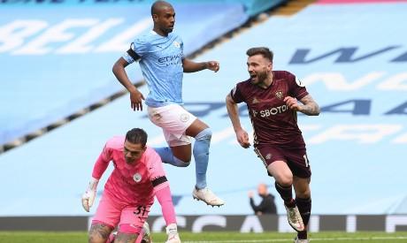 Manchester City v Leeds