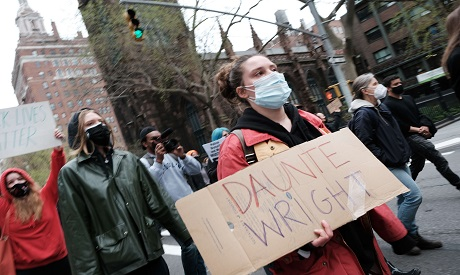 Protests in NY, USA