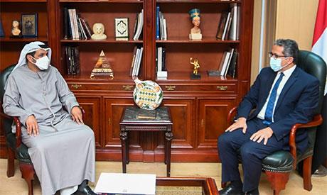 Khaled El-Anani and Hamad Saeed Al Shamsi