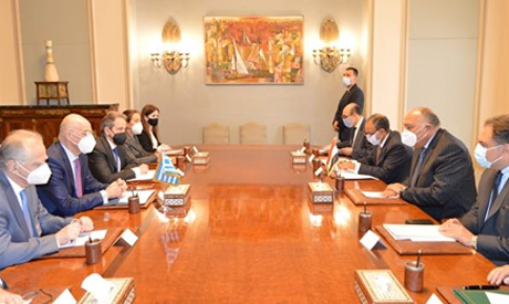 Egyptian, Greek foreign ministers