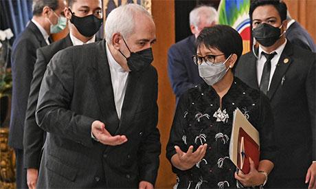Mohammad Javad Zarif  and Retno Marsudi