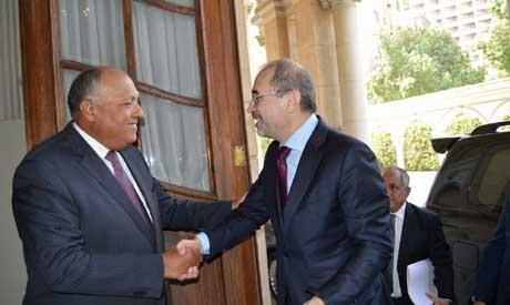 Egyptian, Jordanian FMs