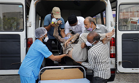 Coronavirus outbreak in India. (Photo: AFP)