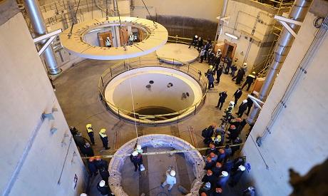 Arak Nuclear station, Iran