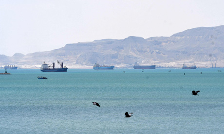 Traffic jam clears in Suez Canal days after container ship dislodged