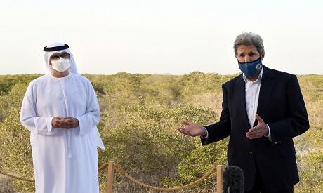 John Kerry in UAE April 2021 Reuters