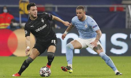 Borussia Moenchengladbach v Manchester City