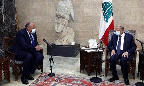 Shoukry and Aoun