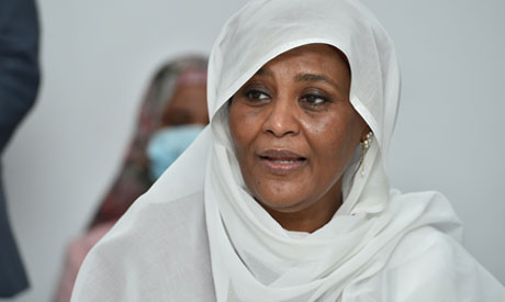 Minister of Foreign Affairs of Sudan Dr. Mariam al-Sadiq al-Mahdi