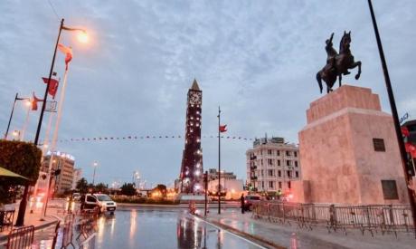 Curfew in Tunisia