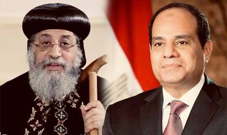 Sisi, Pope Tawadros II