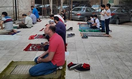 Egypt Eid prayers