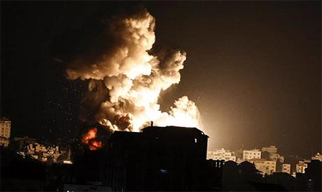 Israeli air strikes