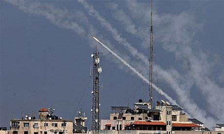 Rockets from Gaza