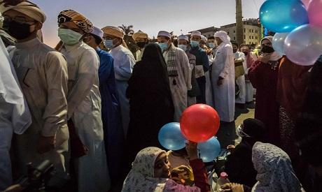 Eid coronavirus in Cairo