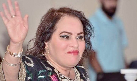 Actress Nadia El-Iraqia. Al-Ahram
