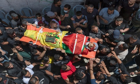 Palestinians funeral