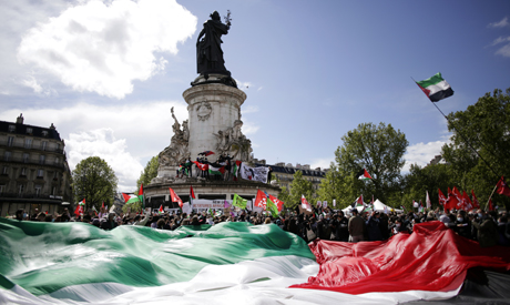 Palestinian cause gains momentum in Europe