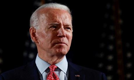 US president Joe Biden . AFP
