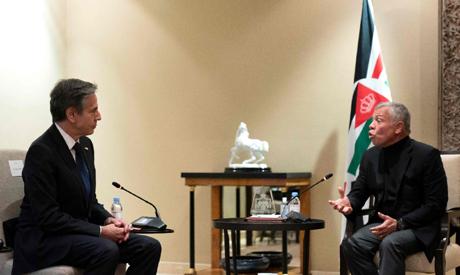 Blinken/King Abdullah