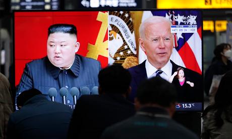 Kim Jong Un - Joe Biden