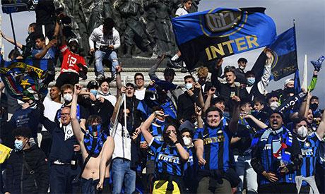 Inter Milan fans