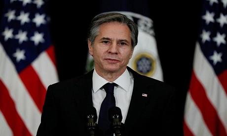 The U.S Secretary of the State Blinken