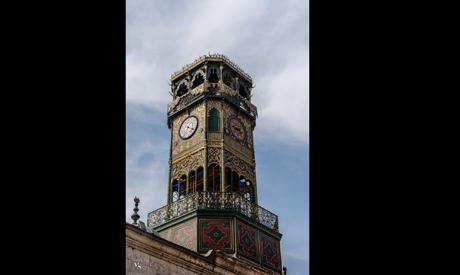 Cairo Citadel clock