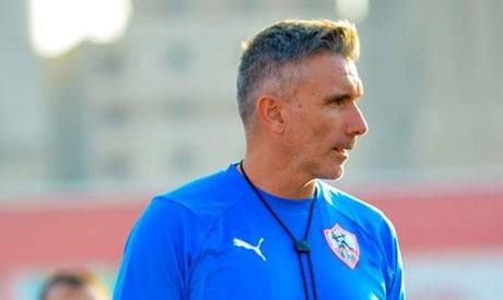 Zamalek coach Patrice Carteron (Photo: Ahram)