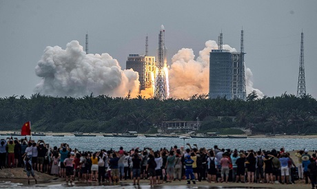 Chinese space Rocket