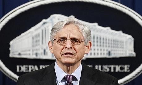 The American attorney and jurist Merrick Garland