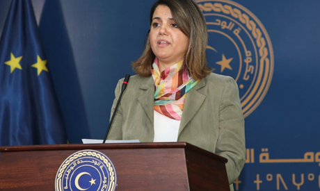 Libyan Foreign Minister Najla el-Mangoush. REUTERS