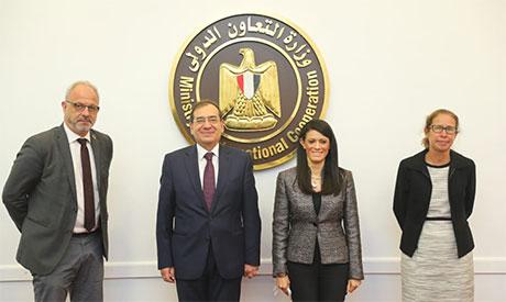 Tarek El-Molla and Rania Al-Mashat