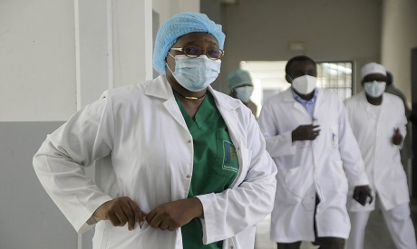 A doctor in Chad