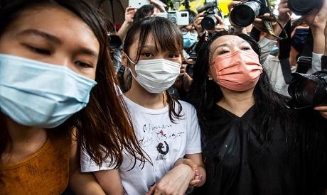Protests in Hong Kong