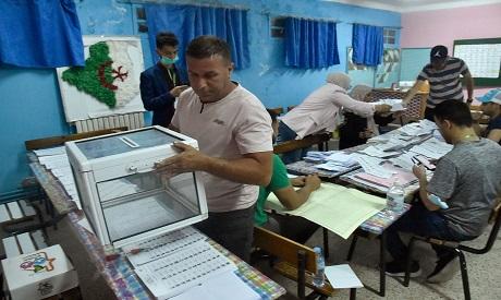 Algeria election . AFP