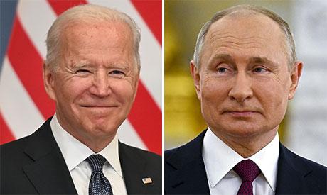 Joe Biden & Vladimir Putin