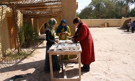 Evelyne of Tunis village