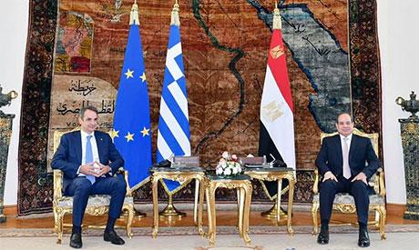 Abdel Fattah El-Sisi & Kyriakos Mitsotakis