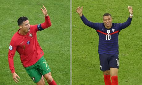 Cristiano Ronaldo & Kylian Mbappe