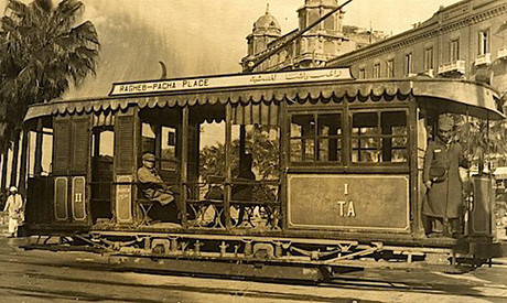 A1903 photo of the Alexandrian tram