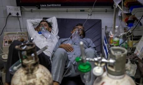 Coronavirus patients in India