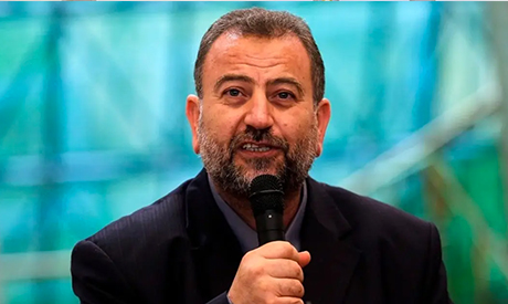 Hamas' deputy chief Saleh al-Arouri. (Reuters)