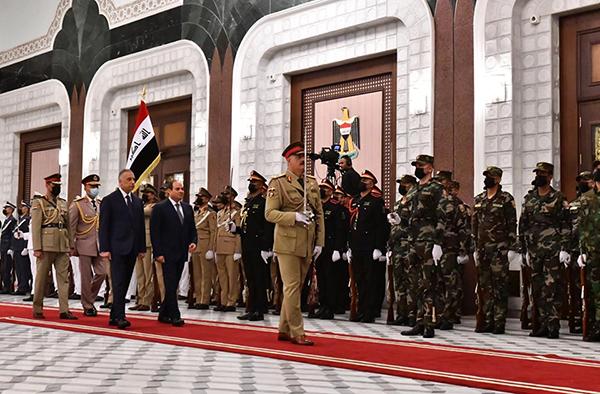 Egypt, Iraq, Jordan