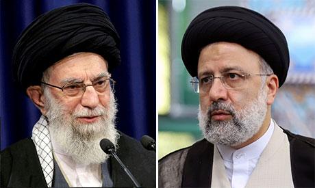 Ali Khamenei & Ebrahim Raisi