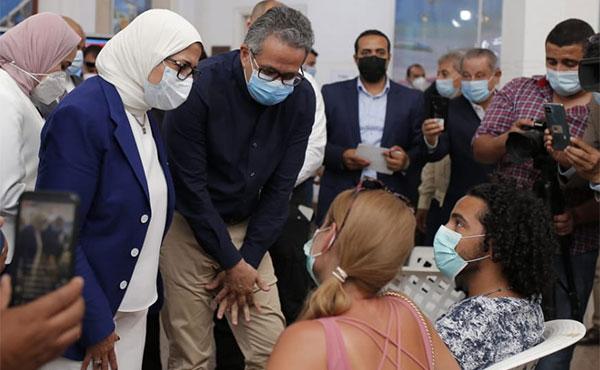Khaled El-Enany and Hala Zayed