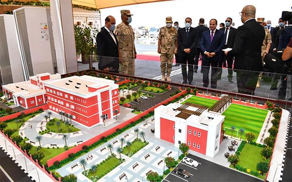 President Abdel Fattah El-Sisi & Mostafa Madbouly