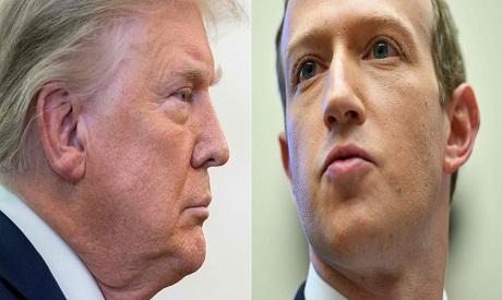 Trump & Zuckerberg
