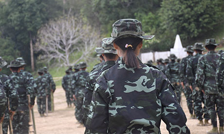 This handout photo from local media group Kantarawaddy Times taken on May 10, 2021 and released on J