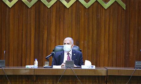 Egypt's Irrigation Minister Mohamed Abdel-Ati
